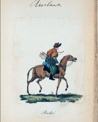 Башкир в лисьей шапке