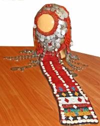 Праздничный наряд башкирок бассейна Демы