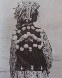 Башкирский головной убор у девочек