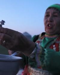 Ритуальная практика с заговором «Кот ҡойоу»