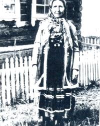 Женский костюмный комплекс закамских удмуртов