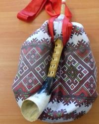 Изготовление чувашской национальной волынки шубыр мастером Виталием Захаровым в Миякинском районе Республики Башкортостан