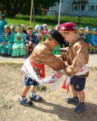 Башкирские народные игры