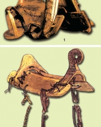 Старые башкирские седла