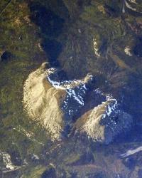 Космонавт Иван Вагнер сфотографировал горы Башкортостана с борта МКС